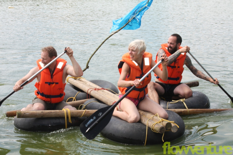 Erlebnispädagogische Floßfahrt
