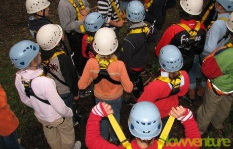 Klettergurt und Helm
